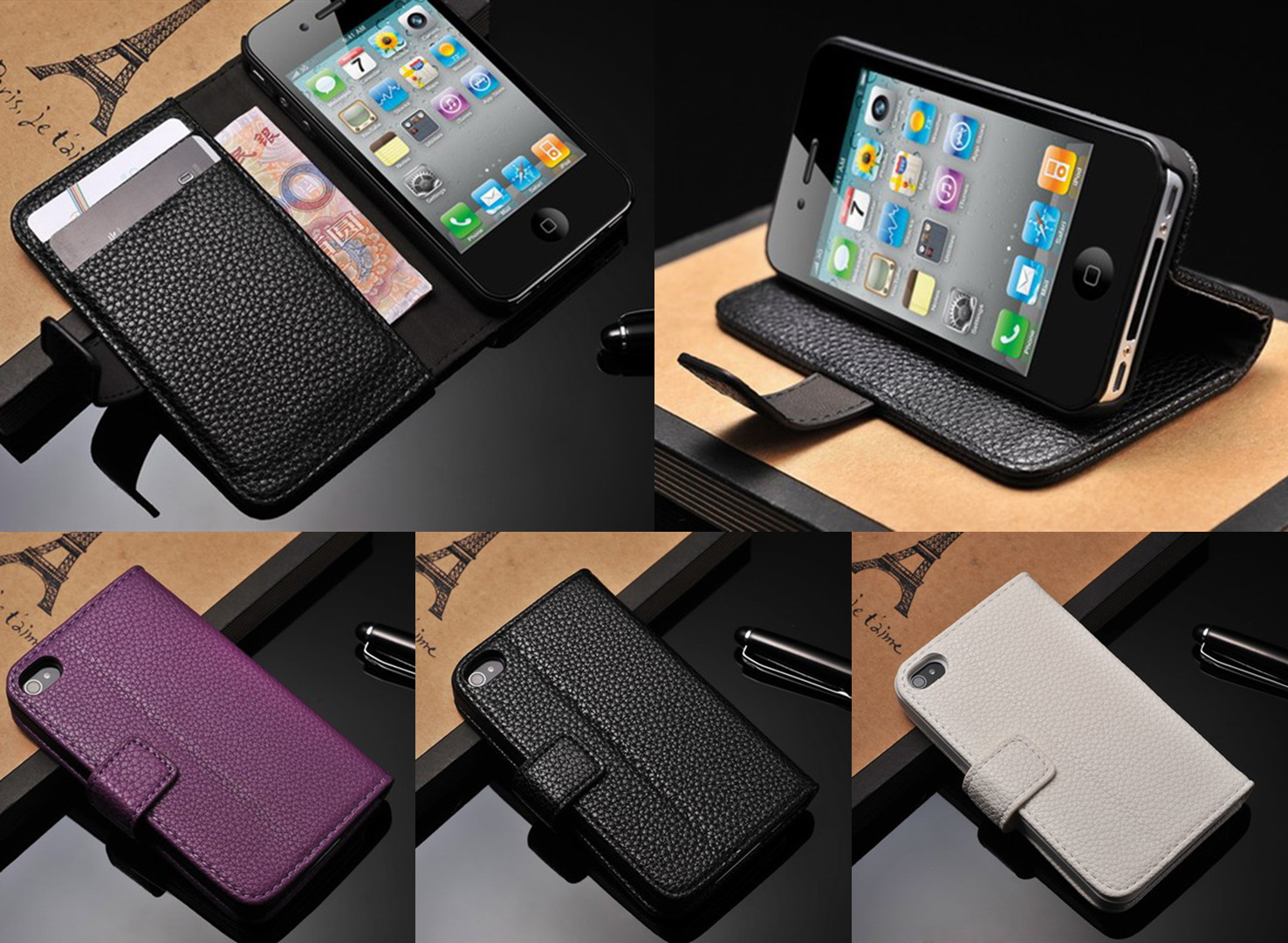Ledertasche Iphone 4s Iphone 4 / 4s Design